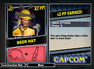 Dead rising 2 combo card Beer Hat