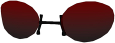 Dead rising Red Armless Sunglasses