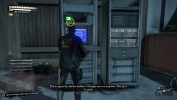 Investigate the Server Station 3