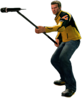 Dead rising mic stand holding
