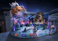 Dead rising 2 Off the Record concept art from main menu art page WACK A MOLE (3)
