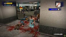 Dead rising blue dress