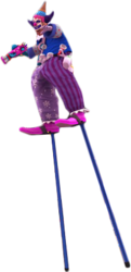 Dead rising evan on stilts no background