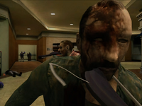 Dead rising zombie hanger
