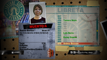 Dead Rising 2 - Libreta - Andrea Brenser