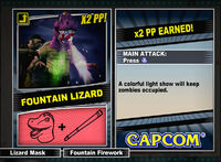 Dead rising 2 combo card Fountain Lizard