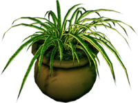 Dead rising Round Potted Plant