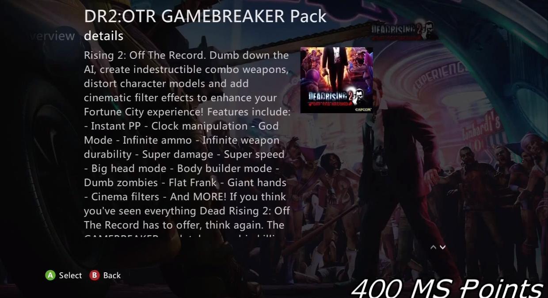 Gamebreaker Pack Dead Rising Wiki Fandom