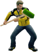 Dead rising push broom main