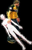 Dead rising mannequin female holding