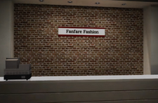 Fanfare Fashions Counter