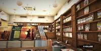 Dead rising Ragazines bookshelves