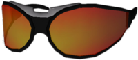 Dead rising Black and Orange Sunglasses