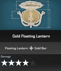 Gold Floating Lantern Blueprint