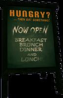 Dead rising Ad Board 2