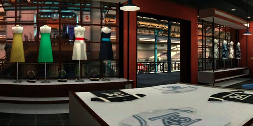 Inside Lovely Fashion House