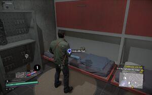Umbrella Gun Blueprints Location DR4