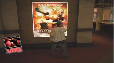 Dead rising Blambow poster location