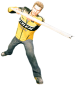 Dead rising broom handle main