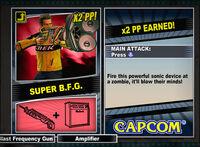 Dead rising 2 combo card Super B.F.G.