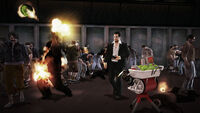 Dead rising Saw Launcher launching