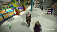 Dead rising LOVERS escorting 3 wonderland plaza to bathroom