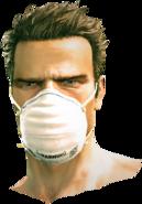Dead rising Hygiene Mask 2 full face