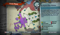 Dead rising fortune city arena SPRAY PAINTING ZOMBREX POSTER MAP MAP
