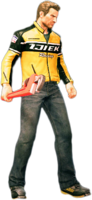 Dead rising large wrench holding