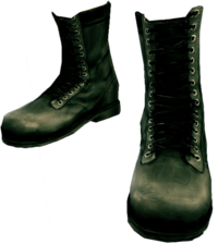 Dead rising Black Military Boots