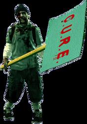 Dead rising zombie protestor mckenzie