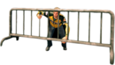 Dead rising metal barricade alternate