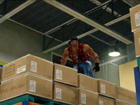 Dead rising cliff on boxes