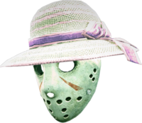 Dead rising ladies hat hockey mask