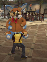 Dead rising robot bear switching stuffed animal