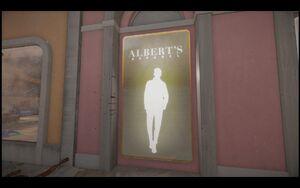 Albert's Apparel Ad