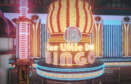Dead rising One Little Duck Bingo sign close up