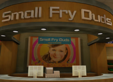 Kids Small Fry Duds Counter