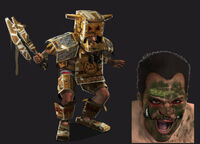 Dead rising 2 Off the Record concept art from main menu art page DLC downloadable content clothing cardboard box
