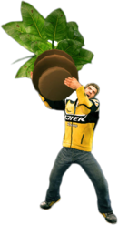 Dead rising large potted plant main