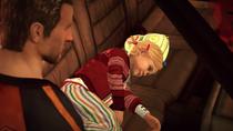 Case Zero - Katey dormida en el auto de Chuck