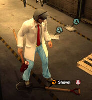 Dead rising in case west shovel