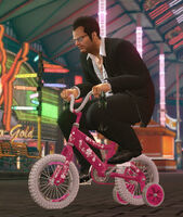 Dead rising tricylce kid's bike with frank off the record (3)