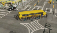 Dead rising 131 no genre copter pics surrounded bus (4)