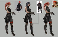 Dead rising 2 Off the Record concept art from main menu art evil stacey (2)