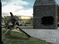 Dead rising helicopter crashed into clock tower (2)