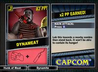 Dead rising 2 combo card Dynameat