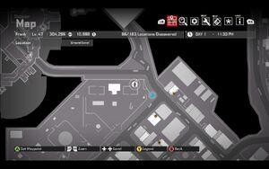 Garrison Park Cellphone Map