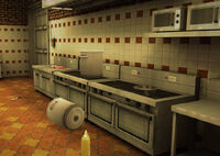 Dead rising 2 Wild West Grill House STOVE