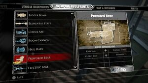 Provoked Bear Blueprints
